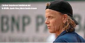 ?? Apollo Films / Marie Camille Orlando ?? L'acteur incarne un tennisman sur le déclin.