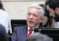 ??  ?? El expresidente Álvaro Uribe Vélez pidió a la Fuerza Pública evitar bloqueos el 20 de julio.