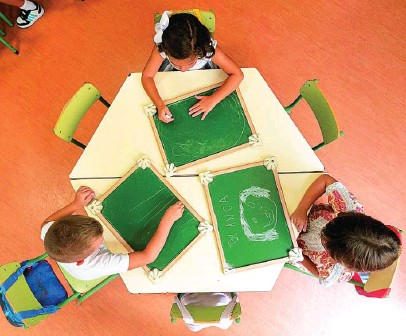 ?? REUTERS ?? En Primaria los alumnos solo podrán repetir una vez por etapa y se favorecerá el apoyo o refuerzo