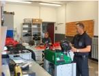 ??  ?? An der Wache in Wattenscheid ist die Atemschutzwerkstatt angesiedelt. Hier werden neben der Atemschutztechnik auch alle CSA und Gsg-messgeräte gewartet.
