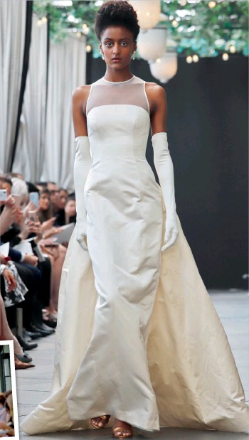 Pressreader Khaleej Times City Times 2018 04 15 A Sombre Close To Amsale Aberra S Bridal Fashion Career