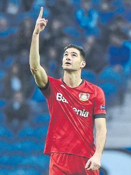 ?? Afp ?? Lucas Alario, de River a Bayer Leverkusen