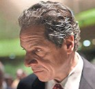?? GETTY IMAGES ?? Three-term New York Gov. Andrew Cuomo faces allegations from three women who say he sexually harassed them.