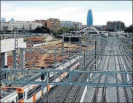 ?? ARCHIVO ?? Obras de la futura estación de la Sagrera