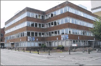 ??  ?? The former Kent Highways office block in Canterbury is set to be transformed