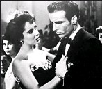 ?? Paramount Pictures ?? Rising Sun: Taylor's first real adult role was starring as a socialite opposite Montgomery Clift.