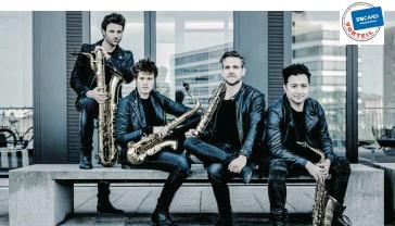 ?? ?? SIGNUM saxophone quartet – energiegeladene Jazzrhythmen am 8. Oktober im Großen Festspielhaus.