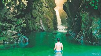 ?? Cortesía: Dago y David Ospina ?? El Oasis de la Sirena es uno de los recomendados en el Valle./