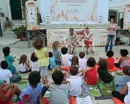 ??  ?? Il family festival Si definisce così la kermesse itinerante dell'associazione Città dei Bimbi, dedicata ai piccoli lettori e alle loro famiglie