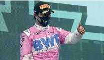 ??  ?? El mexicano declaró en conferencia de prensa que aún no está definido su futuro en la F1.