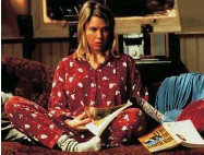 ??  ?? Bridget Jones's Diary all began at a New Year's Eve party.