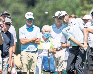 ?? BRYNN ANDERSON THE ASSOCIATED PRESS FILE PHOTO ?? Corey Conners earned more than $4.5 million (U.S.) in prize money this year on the PGA Tour.