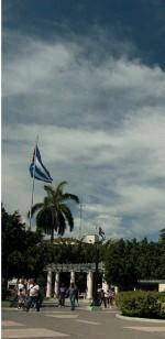 ??  ?? Plaza de Marte Santiago de Cuba.
