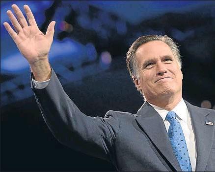 ?? SHAWN THEW / EFE / ARCHIVO ?? Mitt Romney, favorito en las encuestas, no era bien visto por sectores influyentes del partido
