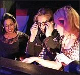 ??  ?? Geek chic: Wark adjusts her specs