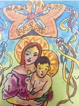 """??  ?? """"Madonna and Child'' by Manuel Rodriguez, Sr."""