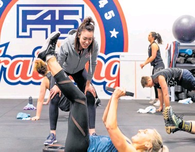 ??  ?? F45 Christchurch Group is a collection of five profitable, fully managed Christchurch gyms.
