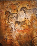 ??  ?? Pinturas rupestres en la cueva de Ekain