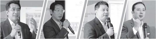 ??  ?? ARCH Capital Investment and Asset Management director Jonathan Umali ArthaLand Corporation EVP and treasurer Leo Po Leechiu Property Consultants, Inc. director Phillip Añonuevo ULI Philippine national council and Philippine Green Building Council...