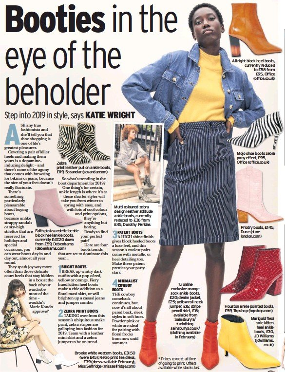 72d90e2a995 PressReader - The Chronicle  2019-01-31 - Booties in the eye of the ...