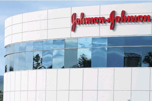 ?? REUTERS ?? A Johnson & Johnson building is shown in Irvine, California.