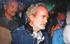 ?? Reuters ?? Christian Michel James, key accused and alleged middleman in the Agusta Westland deal, outside a court in New Delhi, India, yesterday.