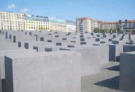 """??  ?? Field of Stelae: """"Memorial to the Murdered Jews of Europe"""" is a somber, immersive public installation."""