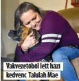 ??  ?? Vakvezetőből lett házi kedvenc Talulah Mae