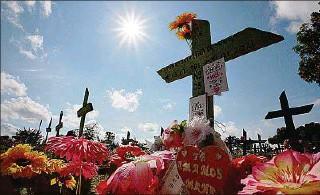 ??  ?? FALLECIDOS. Brasil superó este fin de semana las 500.000 muertes por la pandemia del COVID-19.