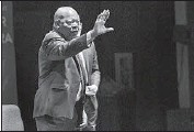 ?? Gina Ferazzi Los Angeles Times ?? REP. JOHN LEWIS recalled his civil rights past and urged the crowd at Cal State L.A. to fight inequality.