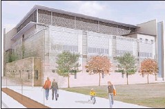 ??  ?? NEW LOOK: The hospital will have state-of-the-art facilities.