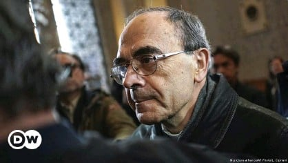 ??  ?? Cardinal Philippe Barbarin stepped down from his role as archibishop of Lyon in March last year