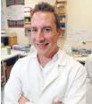 ?? Photo: CAMERON BURNELL/FAIRFAX NZ ?? Real eye-opener: David Ackerley is helping to design a lab-grown retina.