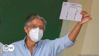 ??  ?? Ecuador's president-elect, former banker Guillermo Lasso