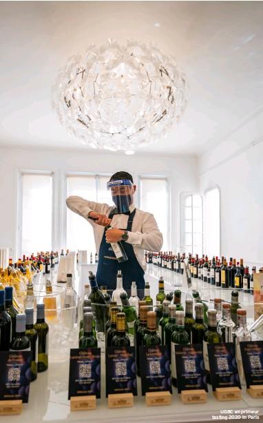 ??  ?? UGBC en primeur tasting 2020 in Paris