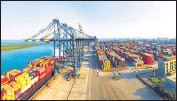 ??  ?? Adani Ports and Special Economic Zone Ltd is building a $290 million port in Yangon on land leased from the military-backed Myanmar Economic Corporation (MEC).