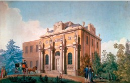 ??  ?? Joseph Gandy: Pitzhanger Manor, 1800