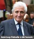 ??  ?? Jean-Loup Dabadie a été honoré.