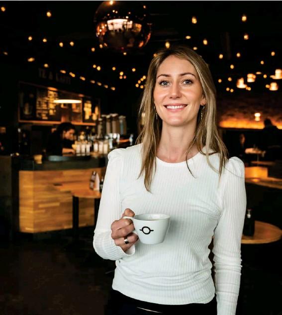 ?? FRÉTTABLAЭIÐ/SIGTRYGGUR ARI ?? Kristín María Dýrfjörð er stjórnarformaður og eigandi Te & Kaffi, sem er staersta kaffivörumerki á Íslandi.