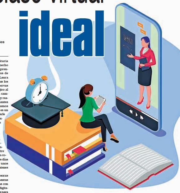 ??  ?? Las clases virtuales implican nuevas disposiciones y procedimientos frente a la tecnología.