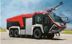 ?? Foto: Ziegler ?? Ausgezeichnet wurde unter anderem die Z‰Class des Herstellers. Das abgebildete Fahrzeug Z6 ist für den Einsatz an Flughäfen geeignet.