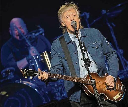 ?? Foto: dpa ?? Nach Dylan und Springsteen meldet sich nun auch McCartney mit einem neuen Album zu Wort.