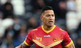"""?? Photograph: Richard Sellers/PA ?? The Australian Christian Lobby calls Folau """"a much-loved Australian champion who has been banned from the NRL for once sharing a post on social media that they didn't like""""."""