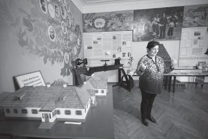 ??  ?? Музею Симиренків — 50 років. Фото зі сторінки «Тарасова гора» у «Фейсбуці».