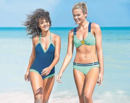 ?? ´PRENSA LEONISA ?? Los nuevos diseños son ideales para realzar la actitud descomplicada de las mujeres entre sol y playa. Los tonos aumentan comodidad.