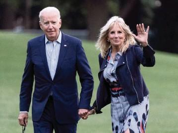 ?? DCBureau ?? President Joe and first lady Jill Biden.