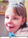 ??  ?? Анечке диагностировали аутизм и интеллектуальную недостаточность с нарушениями поведения.