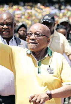 ??  ?? LAW UNTO HIMSELF: President Jacob Zuma has deep disdain for being held accountable, the writer says. He and the ANC are beholden to our constitution.