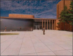 ?? NATALIE BRODA — MEDIANEWS GROUP ?? A rendering of the planned west addition at Oakland University's Varner Hall