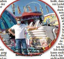 """??  ?? Sorgte sich, dass niemand kommt: Claus Wilhelm (43), Betreiber des """"Shakers"""""""